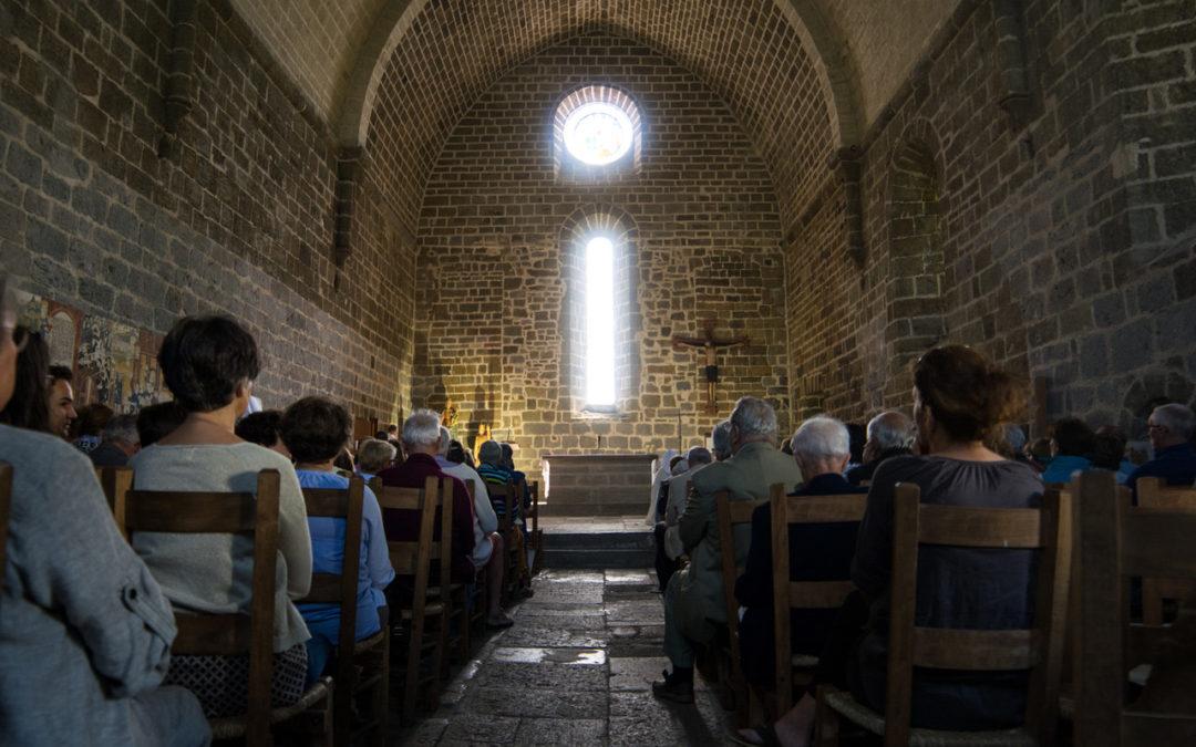 Août 2020 – Liturgies et accueil spirituel pour les pèlerins sur l'Aubrac